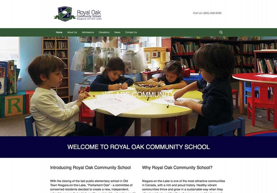 pdrnet-designs-royal-oak-community-school-website