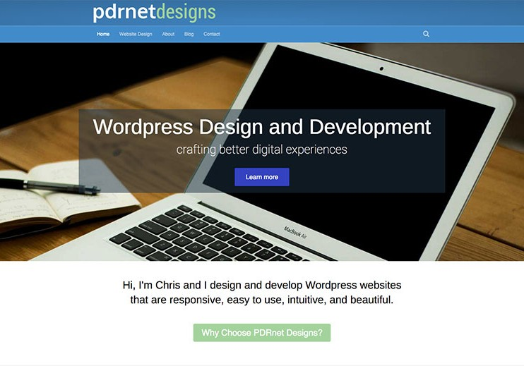 pdrnet-designs-website